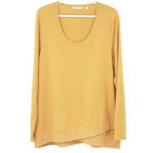Soft Surroundings Chelsea Tunic Sweater Yellow